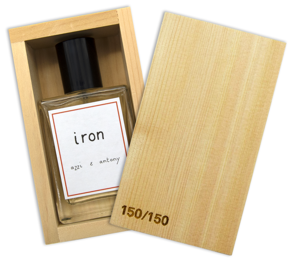 Iron Eau De Parfum in wooden box